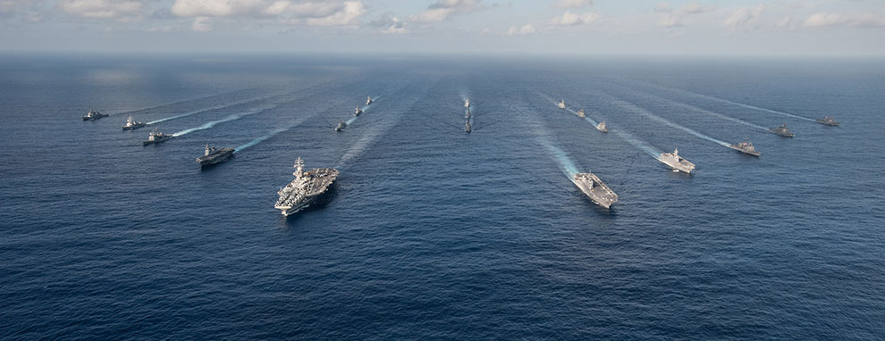The Ronald Reagan Carrier Strike Group (CSG)