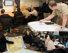 collage of People working at the Office of Naval Intellignece