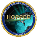 The Hopper Information Services Center Seal