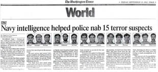 News clipping of suspects